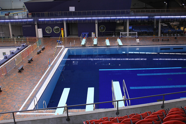 Diving Pool Olympic Stadium Explore Art Roz 39 S Photos On Flickr Photo Sharing