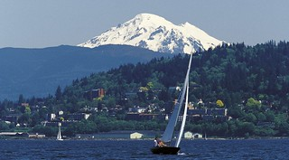 Sailing in Bellingham Bay