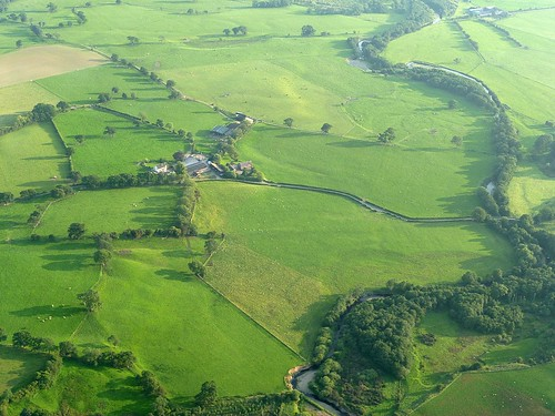Wall Mile 55 from the air