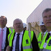 Eric Pickles visits the Centenary Quay development, Southampton