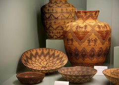 flowerpot, brown, wood, wicker, vase, basket,