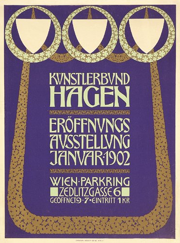 Viennese Artists Hagen Association (1902) by Susanlenox