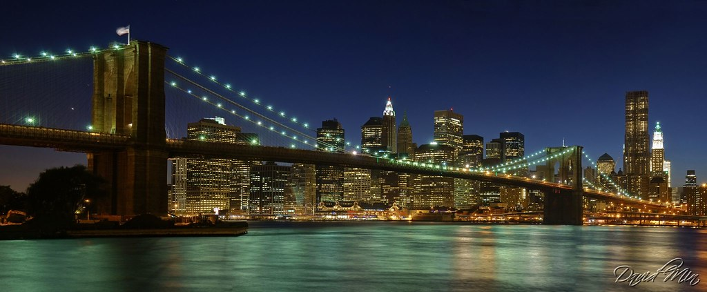 NYC - Brooklyn Bridge Panorama