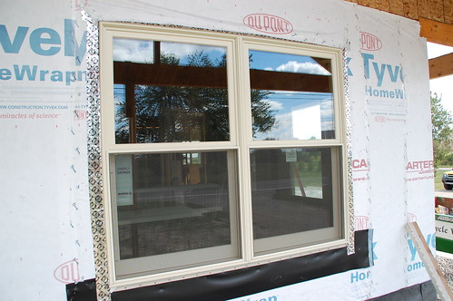 Diy house addition how to properly flash trim windows for Window z flashing