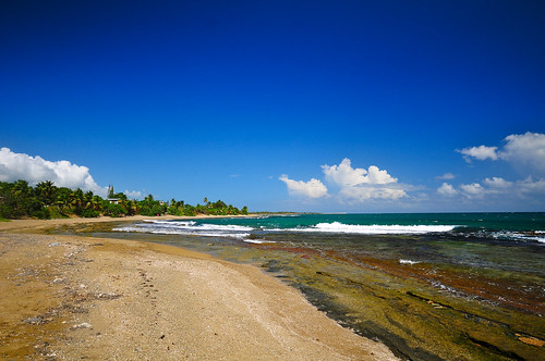 beach coast puertorico playa guayama