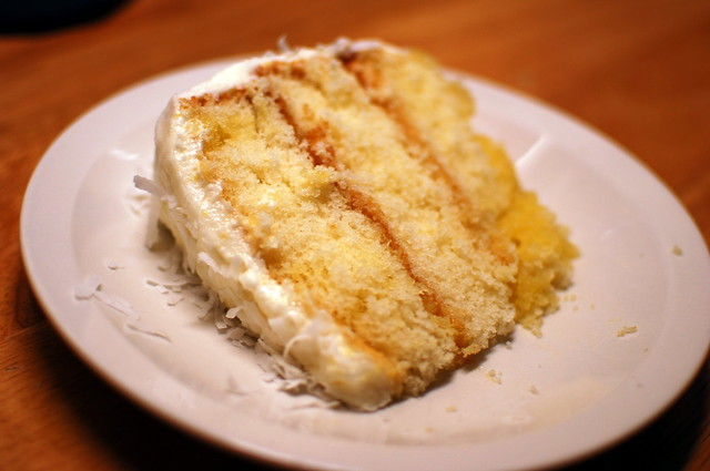 Lemon Layer Cake with Lemon Cream Cheese Frosting | Flickr - Photo ...