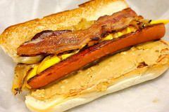 sandwich, meal, breakfast, pork, submarine sandwich, meat, food, dish, cuisine, cheddar cheese, fast food,
