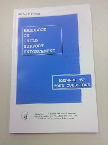 Handbook on Child Support Enforcement