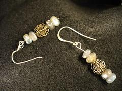 art, pearl, jewellery, gemstone, silver, earrings, bead,