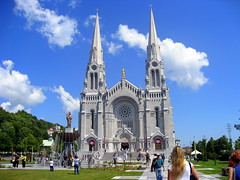 Canada. Quebec, Town Sainte-Anne-de-Beaupre (Basilica St. Anne)