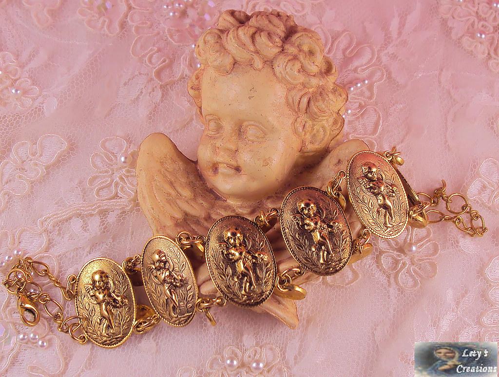 French Style Cherubs Bracelet