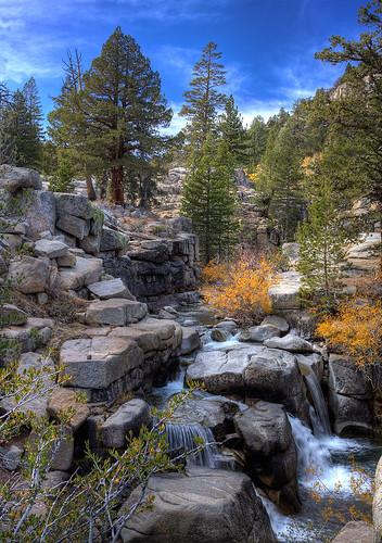 california trees sky sonora landscape waterfall rocks hdr dragondaggerphoto 5thirdlife
