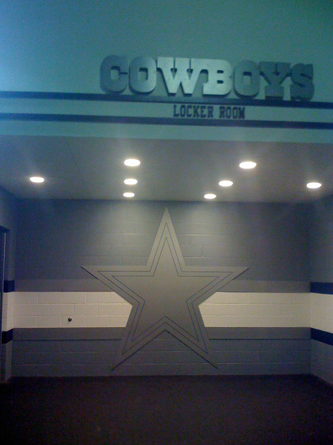 Dallas Cowboys Locker Room Celebration