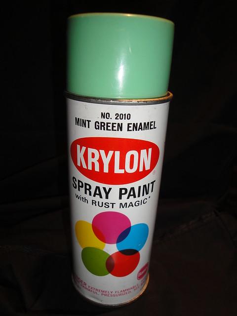 krylon 2010 mint green flickr photo sharing. Black Bedroom Furniture Sets. Home Design Ideas