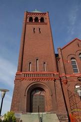 DSD_2914 Knox Presbyterian Church Spire, Woodstock