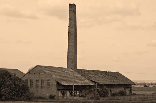 old brickworks at Gehofen