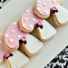 Pink Woodland Sugar Cookies