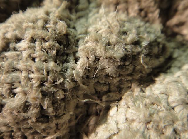 Close-up Asbestos Textile Cooking Mitt