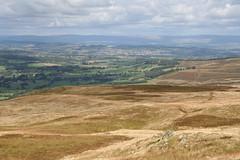 Arthur's Pike summit panorama 10