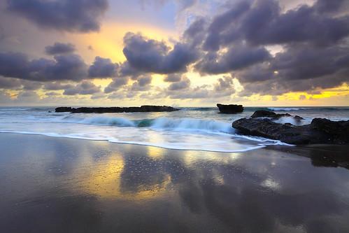 sunset bali seascape beach canon reflections indonesia canonefs1022mmf3545usm canon50d