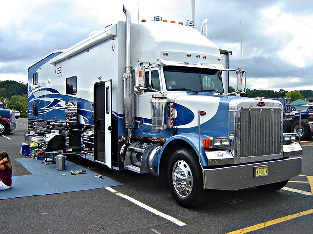 Peterbilt Motor Home Flickr Photo Sharing