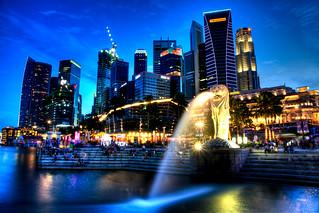 Singapore Marina - The Merlion