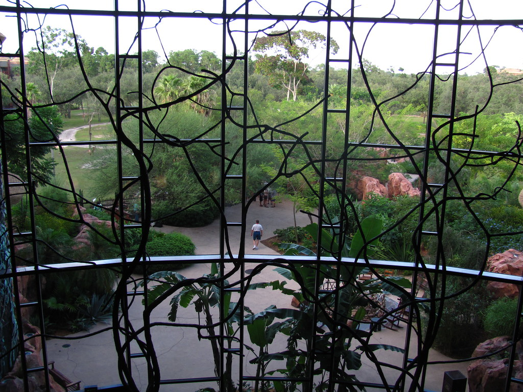 Arusha Savanna from Jambo House at Animal Kingdom Lodge