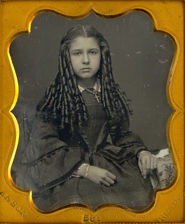 Victorian Teen with Sausage Curls