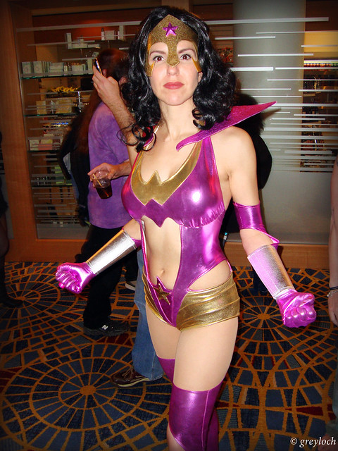 Wonder Woman as Star Sapphire | Flickr - Photo Sharing!