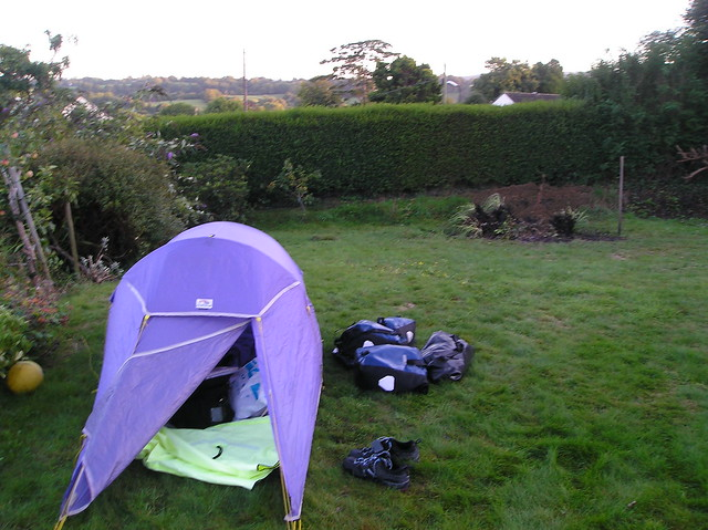 Camping In The Backyard Highlights : Camping in the Holmes back yard  Flickr  Photo Sharing!