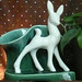 Art Deco Fawn TV Lamp by Lise Vintage Lighting