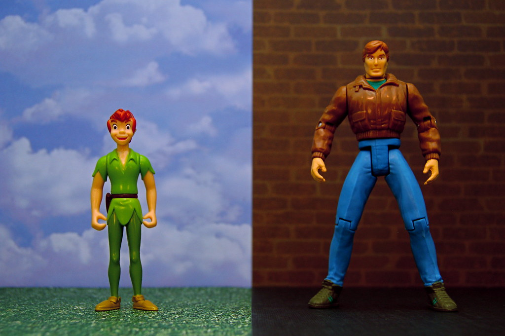 Peter Pan vs. Peter Parker (273/365)