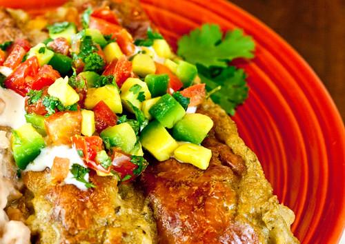 Gastronomía y recetas, blog gastronomía, las mejores recetas de cocina, enchiladas, chile