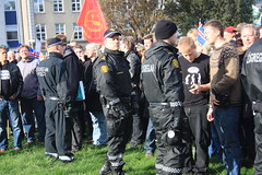 Protest in Iceland october 2010
