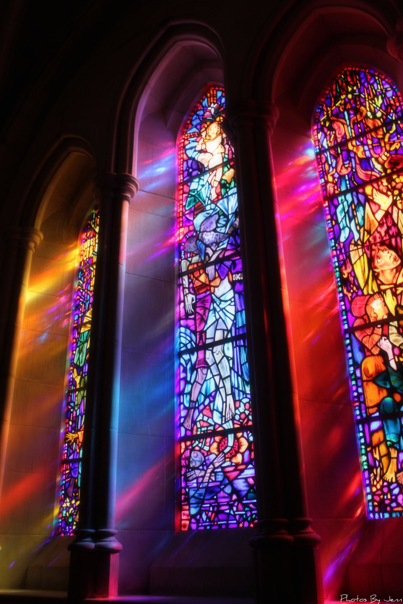 Stained glass windows flickr photo sharing for Window lights