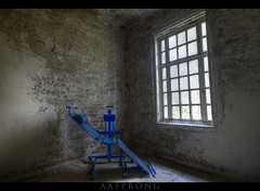 The Blue Chair - L Mental Hospital