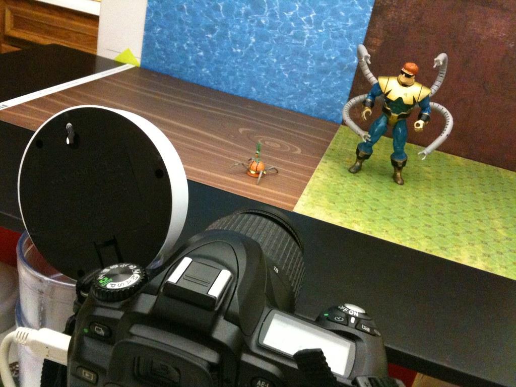 Sheldon J. Plankton vs. Doctor Octopus Setup