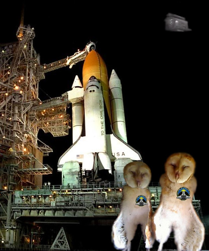 """I'm a Space Shuttle"" (Ashley and Carrie visit Cape Canaveral)"
