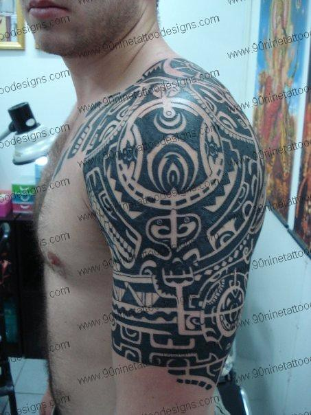 Polynesian tattoo 01 tattoo designs tattoo designs for men