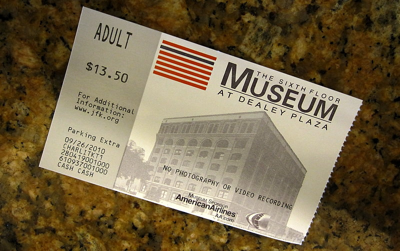 The Ticket Sixth Floor Museum At Dealey Plaza Dallas Www