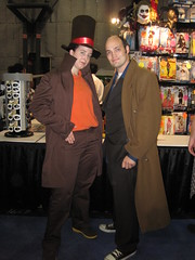 NYCC-NYAF 2010 (25) Tenth Doctor & Professor Layton
