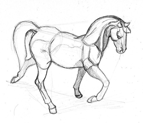 How to draw breyer for Breyer coloring pages