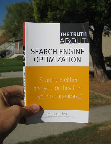The Truth About Search Engine Optimization (Rebecca Lieb) - Blogging Bookshelf