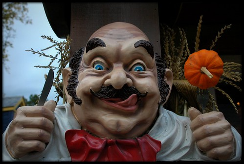 Halloween chef