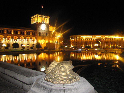 Republic Square from Yerevan,Armenia