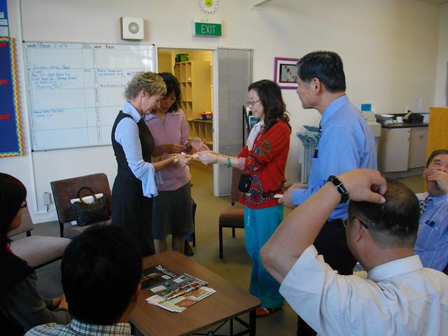 參訪Rosehill高小(2009年4月份-金色山莊安排雲林縣教育參訪團赴紐考察)