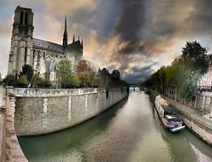 Vue de Notre-Dame - 16-10-2010- 8h27
