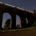 Viaduct, Field, Train by DC_Morgan