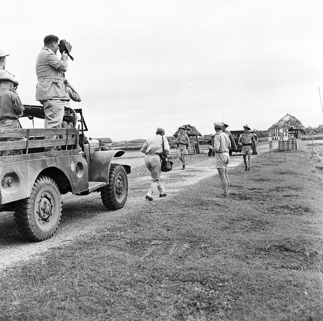 La conférence de Trung Gia (Tonkin), le 4 juillet 1954