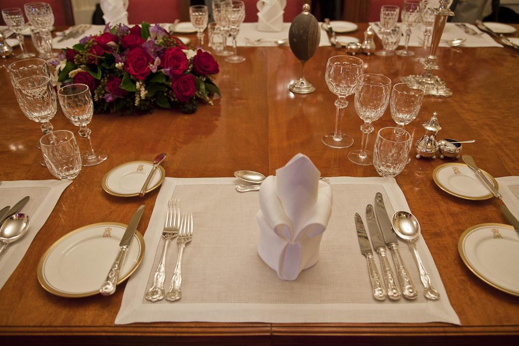 Formal Dining Table Set Up: FORMAL DINING TABLE SET. FORMAL DINING